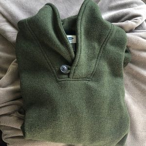 Old Navy Boys XL (14-16) forest green sweater